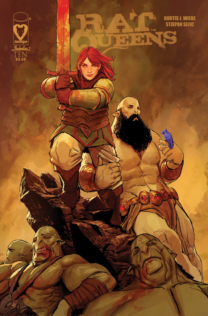 Welcome to Rat Queens, Stjepan Sejic